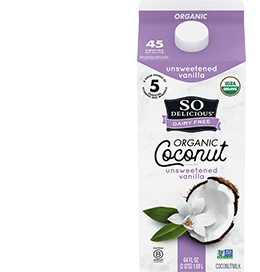 Shelf Stable Unsweetened Coconutmilk