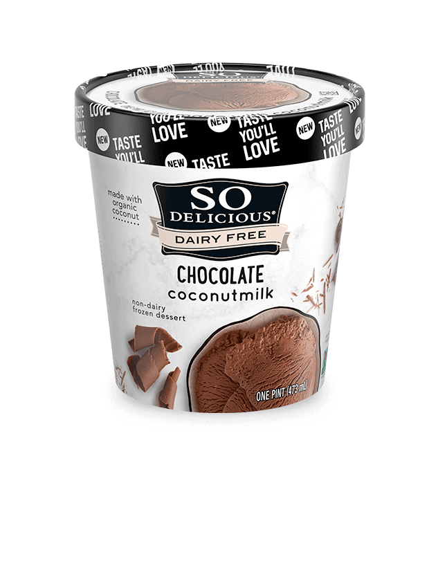 Chocolate Coconutmilk Frozen Dessert