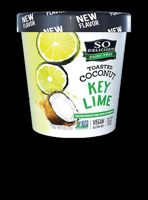Key Lime Coconutmilk Frozen Dessert | So Delicious Dairy Free