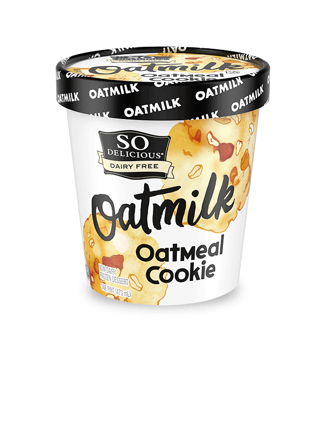 Oatmeal Cookie Oatmilk Frozen Dessert