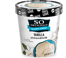 So Delicious Almond Milk Pint - Vanilla