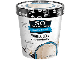 So Delicious Coconut Milk Pint - Vanilla Bean (No Sugar Added)