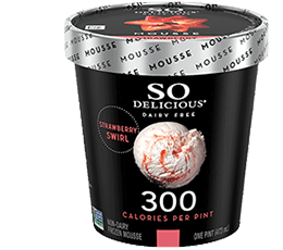 Simple Strawberry Coconutmilk Frozen Dessert