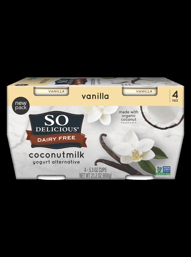 Vanilla Coconutmilk Yogurt 4 Pack