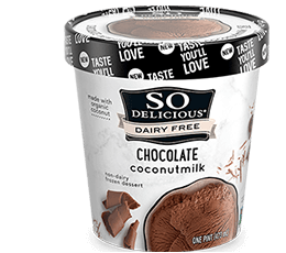 Chocolate Coconutmilk Frozen Dessert
