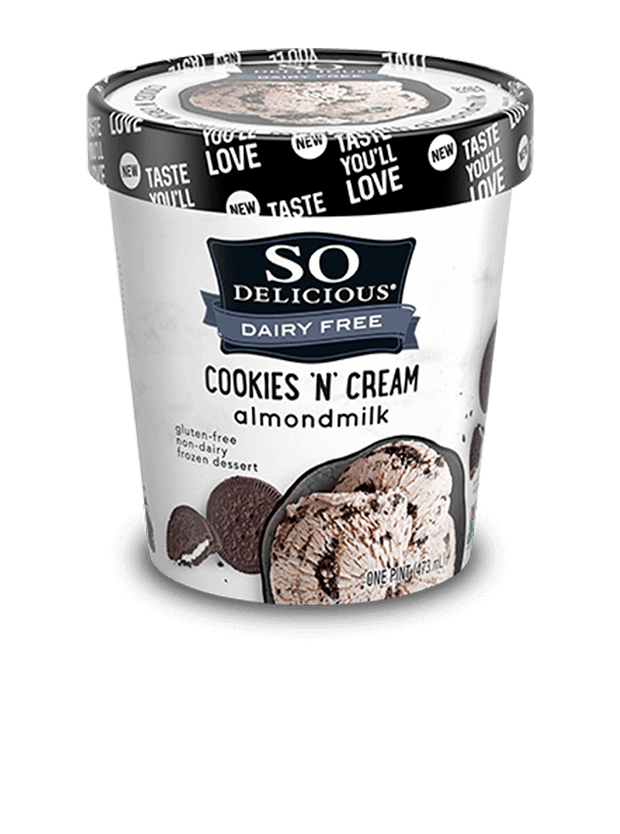 Cookies 'n' Cream Almondmilk Frozen Dessert