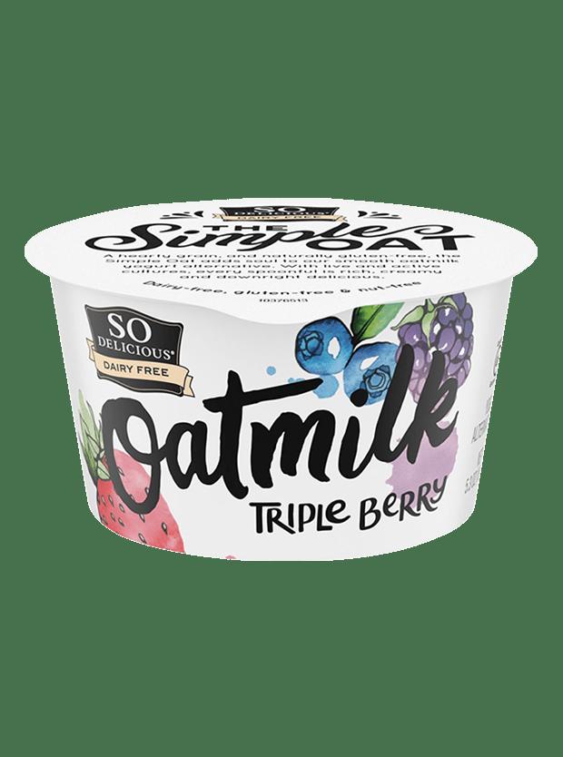 Triple Berry Oatmilk Yogurt