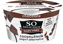 Chocolate Coconutmilk Yogurt