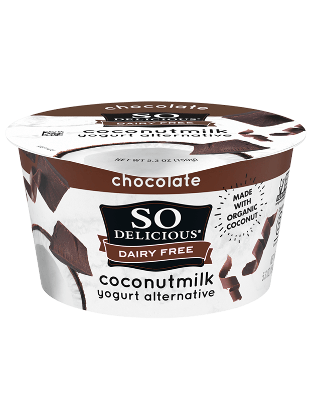 Chocolate Coconutmilk Yogurt