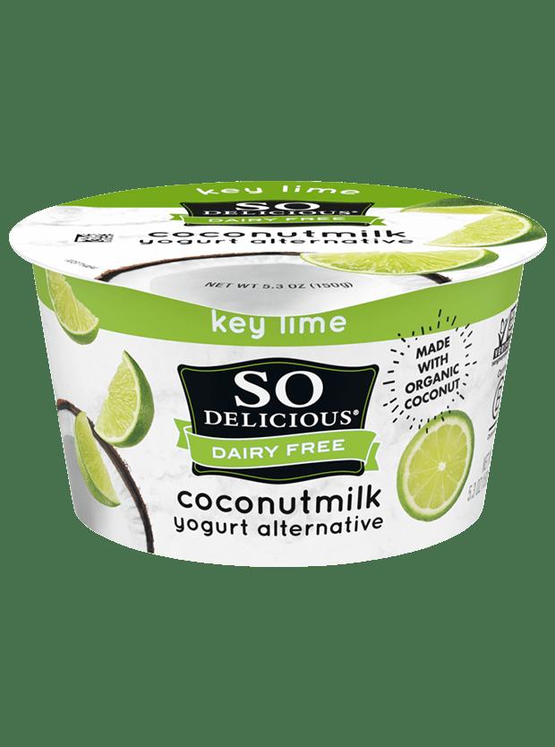 Key Lime Coconutmilk Yogurt