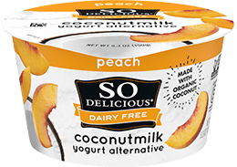 Peach Coconutmilk Yogurt