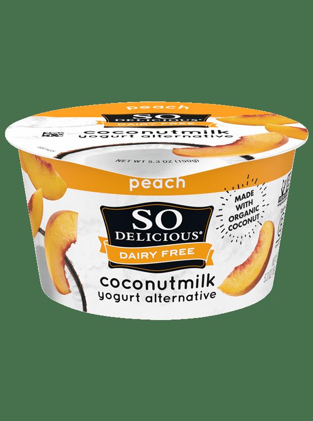 Peach Coconutmilk Yogurt