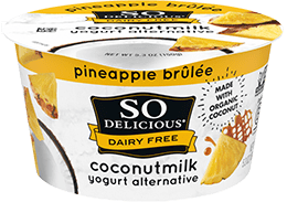 Pineapple Brulee Coconutmilk Yogurt
