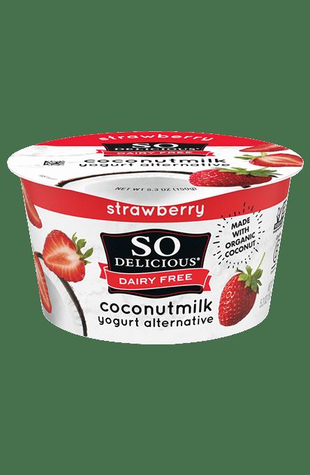 Strawberry Coconutmilk Yogurt