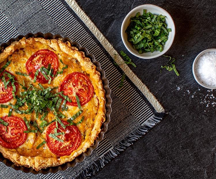 Vegan Tomato Pie