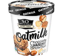 Chocolate Hazelnut Brownie Oatmilk Frozen Dessert