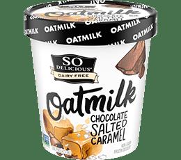 Chocolate Salted Caramel Oatmilk Frozen Dessert