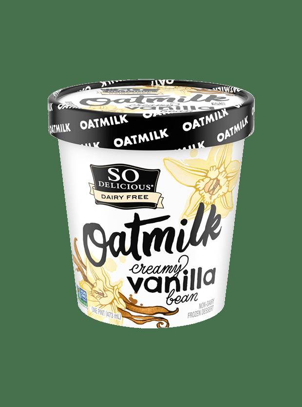 Creamy Vanilla Bean Oatmilk Frozen Dessert
