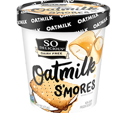 S'mores Oatmilk Frozen Dessert